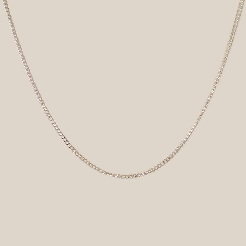 Srebrny łańcuszek Cubana | srebro 925