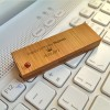 ECO Pendrive z bursztynem | Bamboo XL Amber 32GB USB 3.0