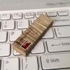 Pendrive z bursztynem | Prestige Three 64GB USB 3.0 | Dwa rodzaje drewna