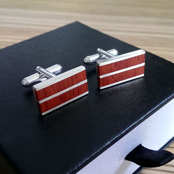 Trendy cufflinks for men